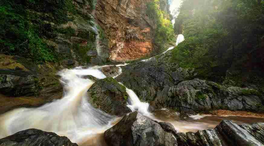 escursione cascata caburni trinidad. tour cuba Caburni Waterfall trinidad. excursiones desde trinidad