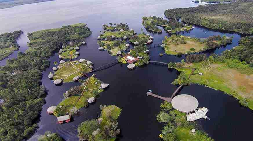 Hotel villa guama bay of pigs. villa guama cienaga de zapata. villa guama in baia dei porci
