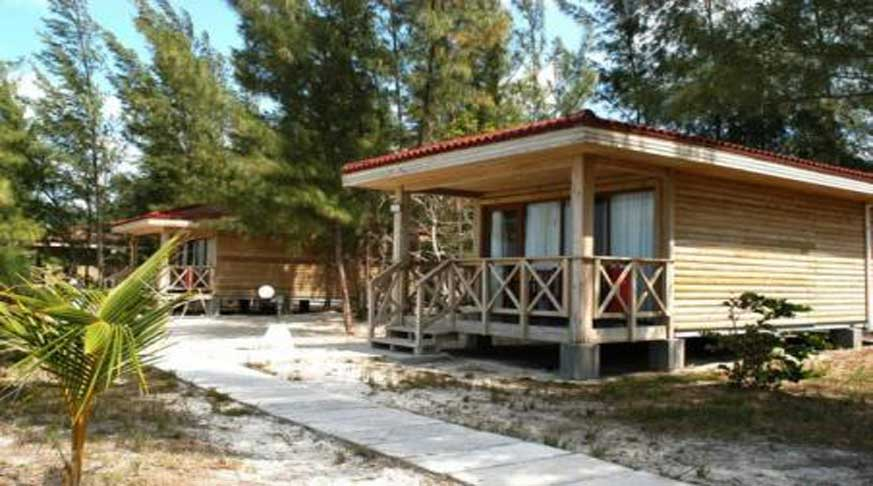 beach hotel villa in cayo levisa. villa cayo levisa centro buceo. centro immersioni a cayo levisa