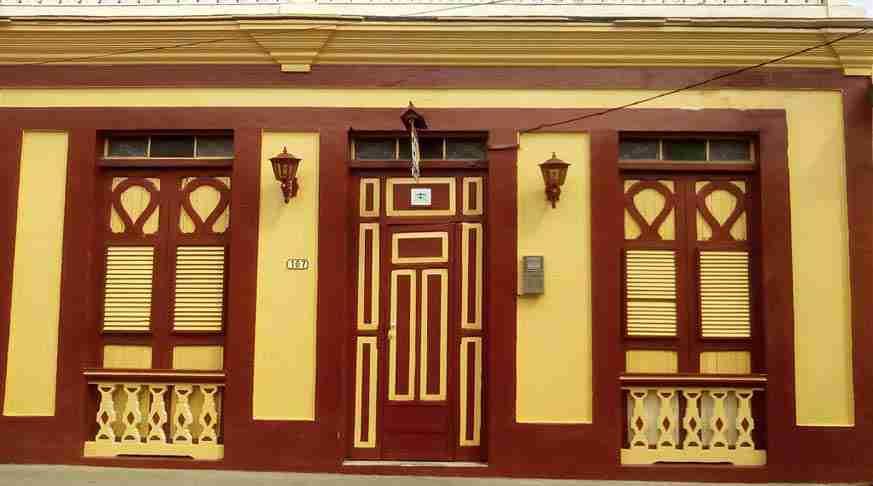 case particular a baracoa cuba bnb colonial. casas para hospedarse en cuba Hostal colonial. hostel in cuba baracoa colonial private house