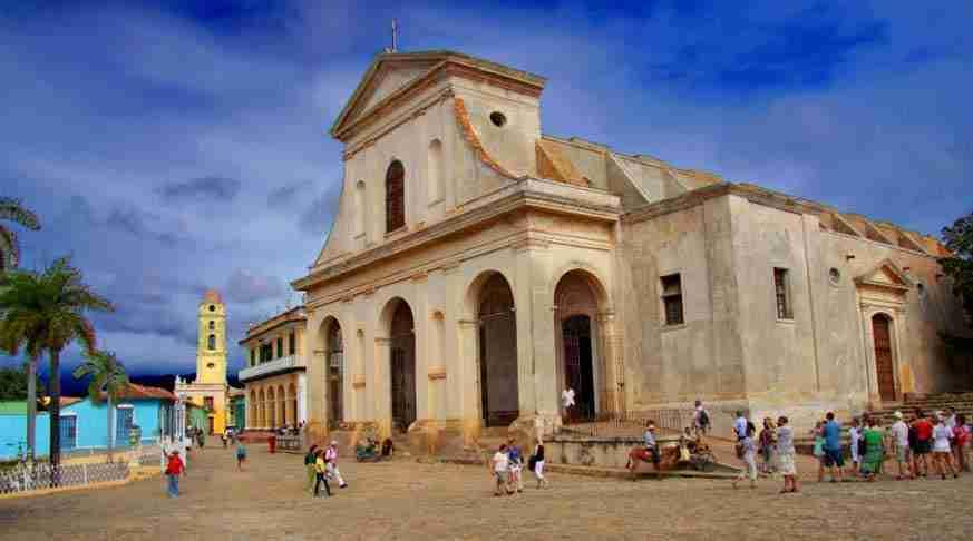 Viaggio in trinidad. chiesa della santisima trinità.