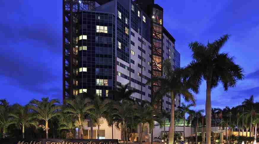 hotels in cuba. hotel meliá santiago