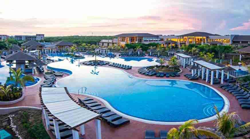 hotels in cuba. hotel gaviota santa maría