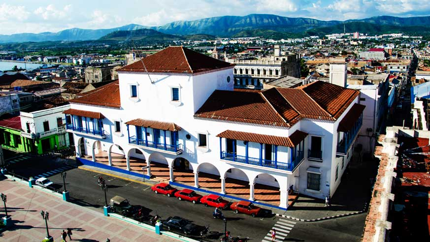 trip to santiago de cuba. government palace